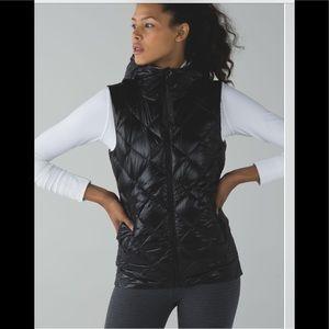 Lululemon The Fluffiest Vest Black / Ziggy Snake